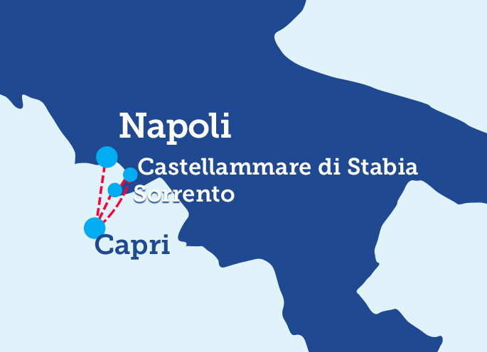 Aliscafi Napoli Capri Sorrento Orari E Prenotazioni
